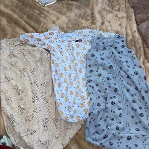 Fleece sleep sacks